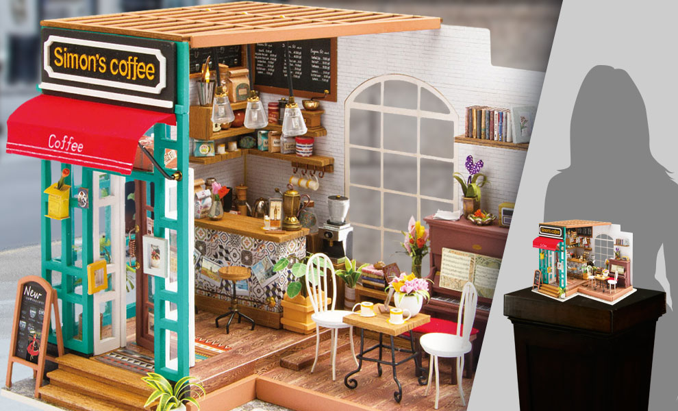 Gallery Feature Image of Simon's Coffee DIY Model Kit - Click to open image gallery