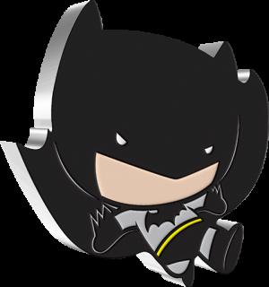 Batman Flying 1oz Silver Coin Silver Collectible