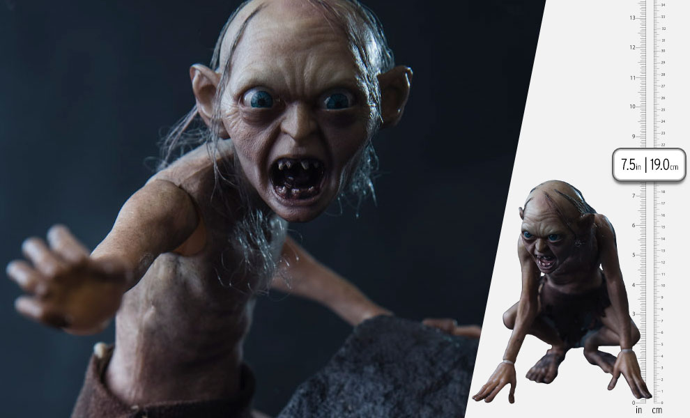 Gallery Feature Image of Gollum Sixth Scale Figure - Click to open image gallery