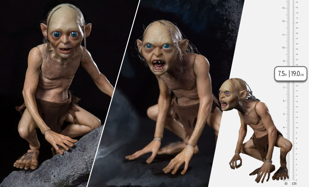 Gallery Feature Image of Gollum (Luxury Edition) Sixth Scale Figure - Click to open image gallery