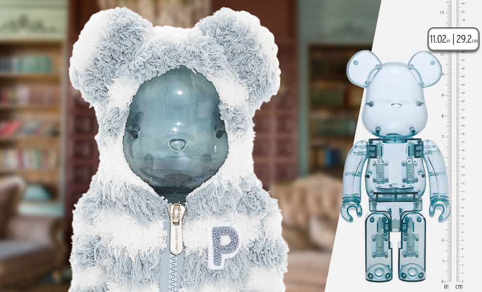 Gallery Feature Image of Gelato Pique x Bearbrick Mint White 400% Bearbrick - Click to open image gallery