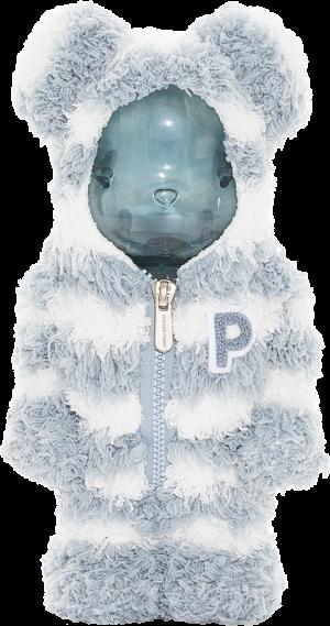 Gelato Pique x Bearbrick Mint White 400% Bearbrick