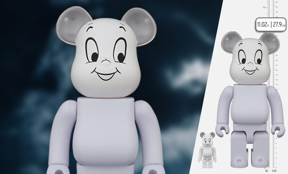 Gallery Feature Image of Be@rbrick Casper 100% & 400% Bearbrick - Click to open image gallery