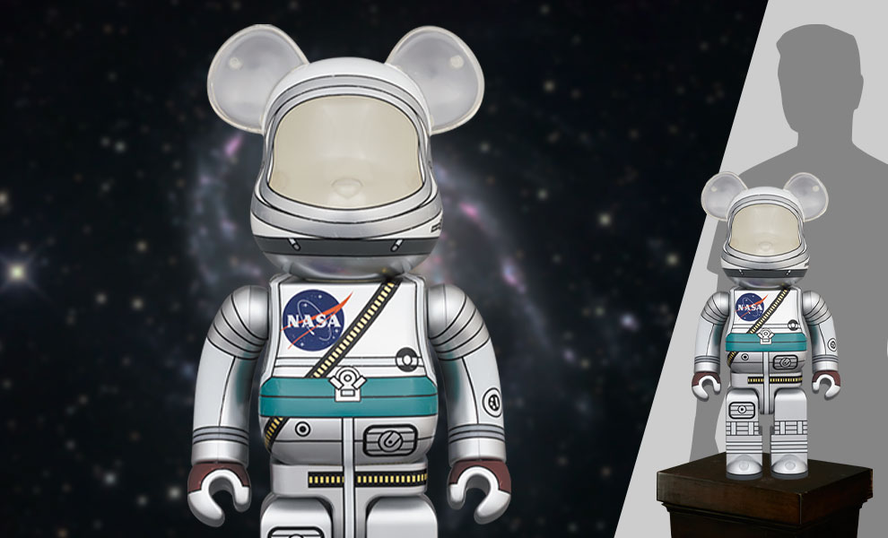 Gallery Feature Image of Be@rbrick Project Mercury Astronaut 1000% Bearbrick - Click to open image gallery