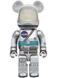 Gallery Image of Be@rbrick Project Mercury Astronaut 1000% Bearbrick
