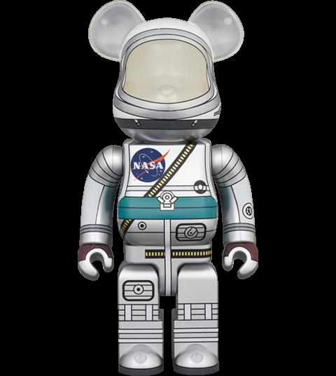 Medicom Toy Be@rbrick Project Mercury Astronaut 1000% Bearbrick