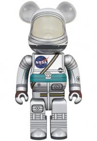 Gallery Image of Be@rbrick Project Mercury Astronaut 100% and 400% Set Bearbrick