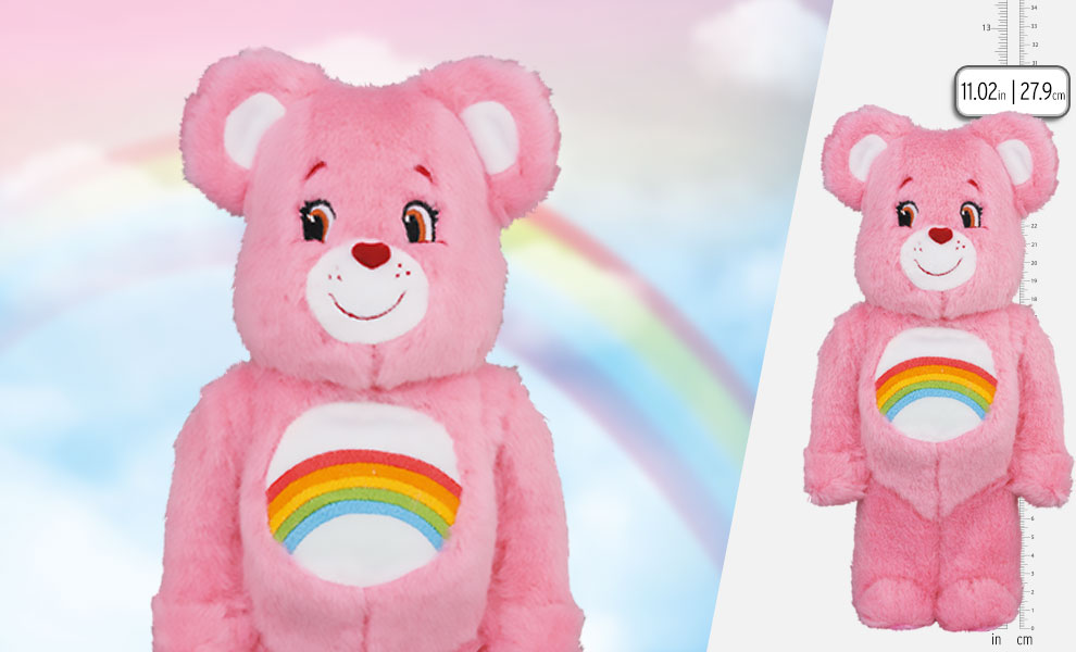 Gallery Feature Image of Be@rbrick Cheer Bear Costume Version 400% Bearbrick - Click to open image gallery