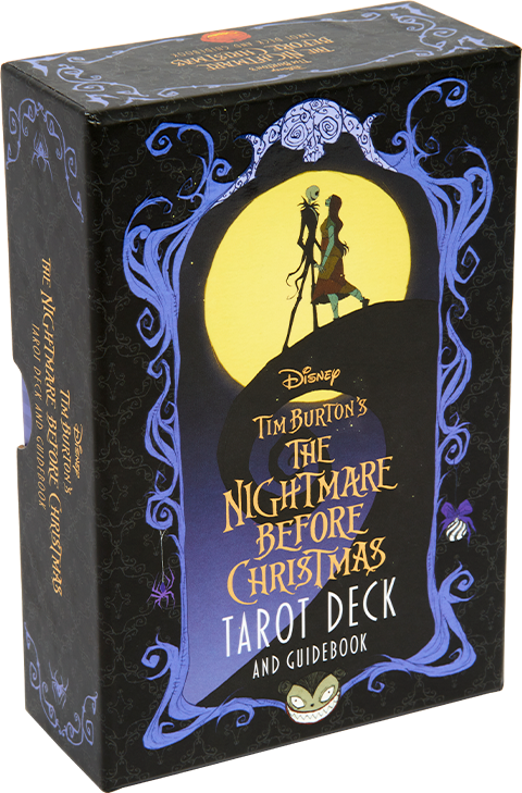 Insight Editions The Nightmare Before Christmas Tarot Deck and Guidebook Book