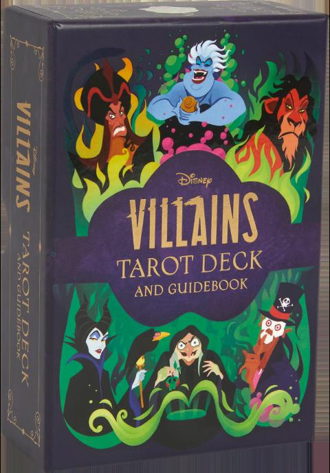 Insight Editions Disney Villains Tarot Deck and Guidebook Book