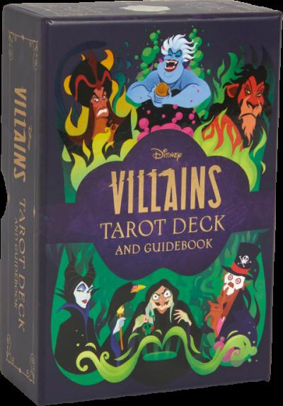 Disney Villains Tarot Deck and Guidebook Book