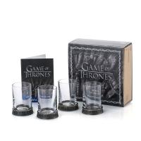 Gallery Image of House Sigils Shot Glass Quartet Collectible Drinkware