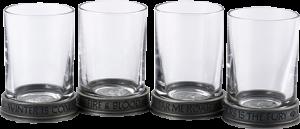 House Sigils Shot Glass Quartet Collectible Drinkware