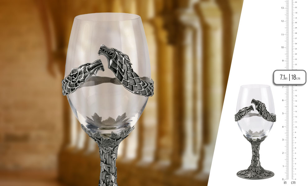 Gallery Feature Image of Queen in the North Goblet Collectible Drinkware - Click to open image gallery