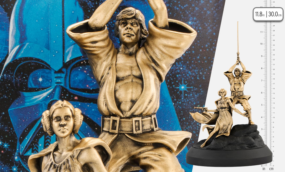 Gallery Feature Image of A New Hope (Gilt) Diorama - Click to open image gallery