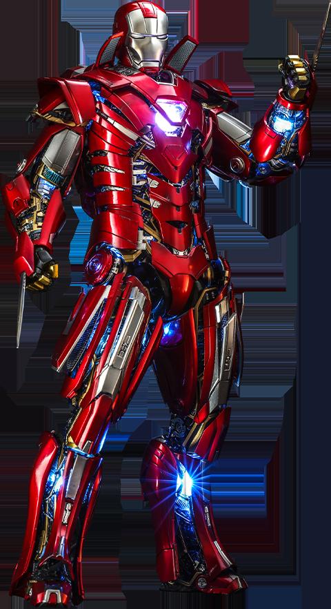 Hot Toys Silver Centurion (Armor Suit Up Version) Sixth Scale Figure