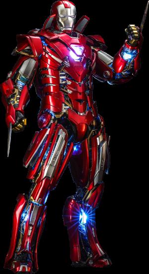 Silver Centurion (Armor Suit Up Version) Sixth Scale Figure