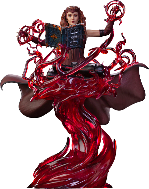 Iron Studios Scarlet Witch Deluxe 1:10 Scale Statue