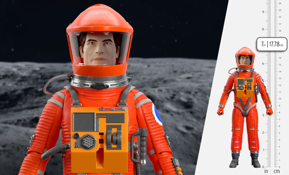 Gallery Feature Image of Dr. Dave Bowman (Red Suit) Action Figure - Click to open image gallery