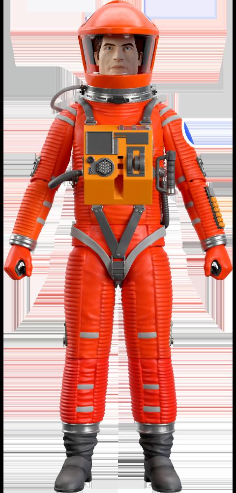 Super 7 Dr. Dave Bowman (Red Suit) Action Figure