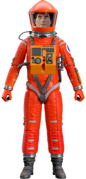 Dr. Dave Bowman (Red Suit) Action Figure
