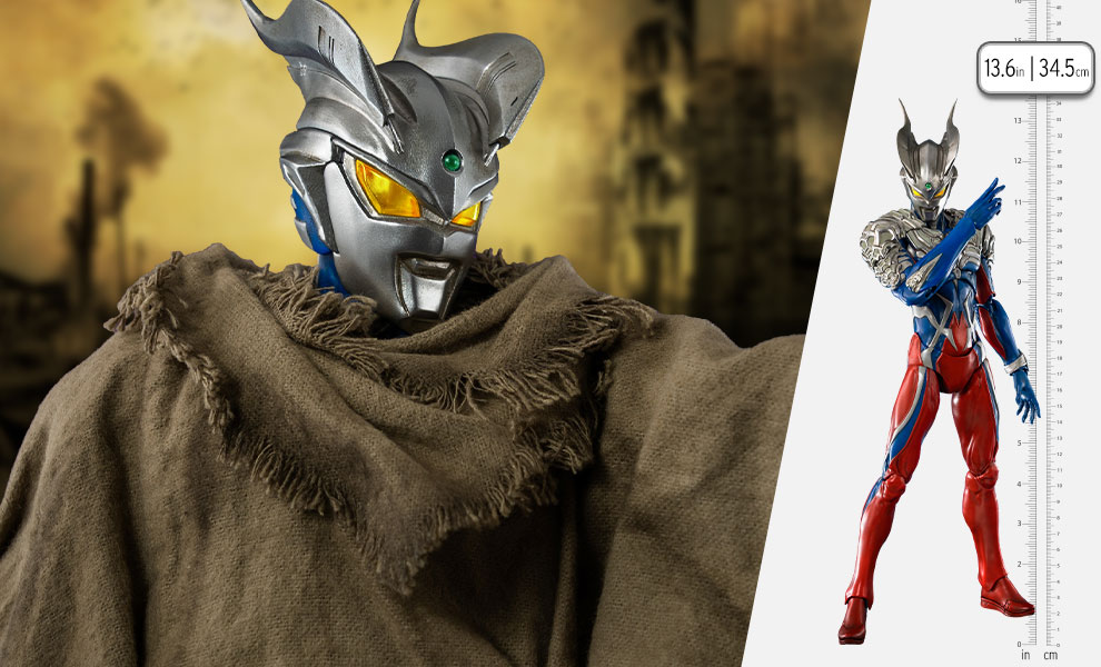Gallery Feature Image of Akinori Takaki Ultraman Zero Collectible Figure - Click to open image gallery