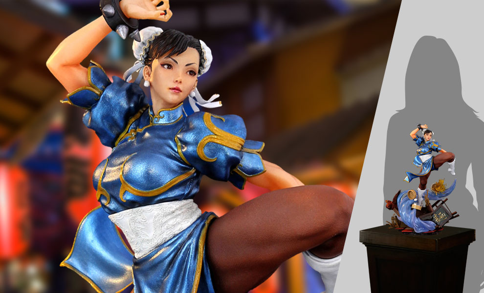 Gallery Feature Image of Chun Li - The Strongest Woman in The World Diorama - Click to open image gallery