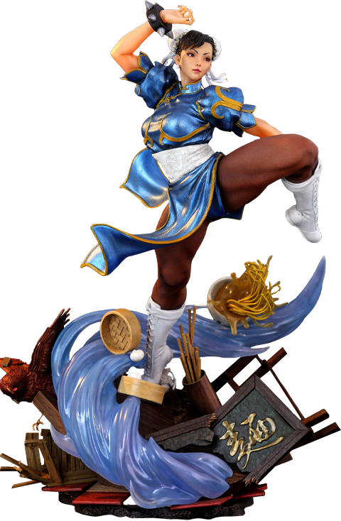 Kinetiquettes Chun Li - The Strongest Woman in The World Diorama