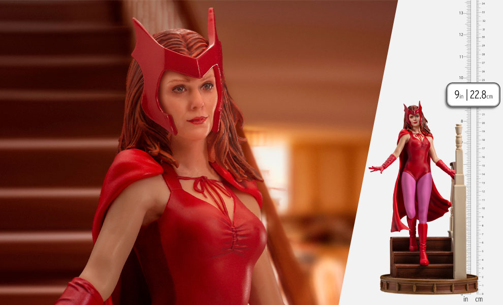 Gallery Feature Image of Wanda Halloween Version 1:10 Scale Statue - Click to open image gallery