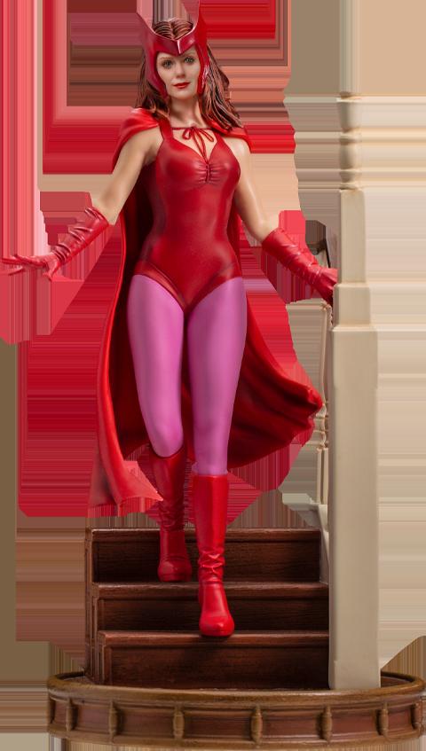 Iron Studios Wanda Halloween Version 1:10 Scale Statue