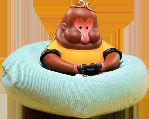 Manas SUM Monkey King Figurine