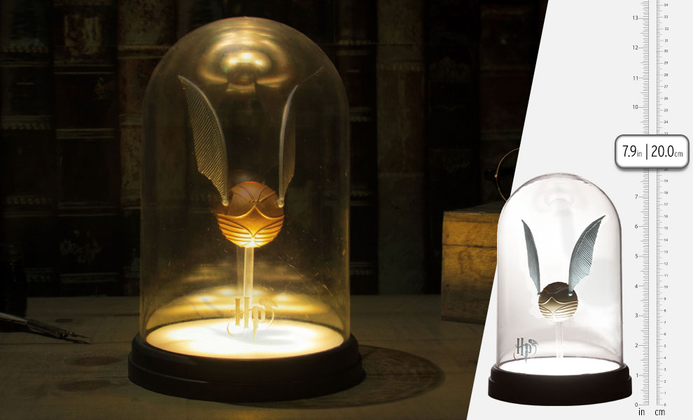 Gallery Feature Image of Golden Snitch Light Collectible Lamp - Click to open image gallery