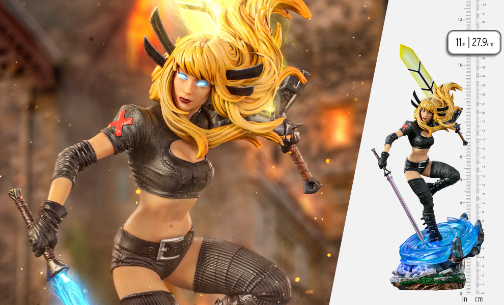 Gallery Feature Image of Magik 1:10 Scale Statue - Click to open image gallery