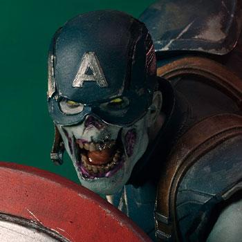 Zombie Captain America 1:10 Scale Statue