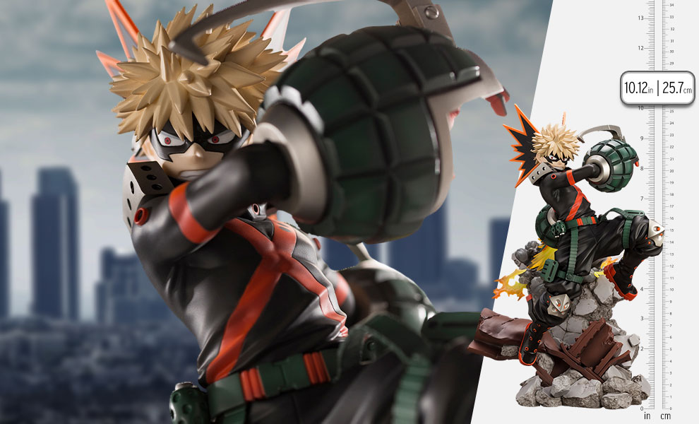 Gallery Feature Image of Katsuki Bakugo (Version 2) Statue - Click to open image gallery