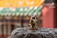 Gallery Image of Teasie Beastie – Kirin (Copper) Figurine