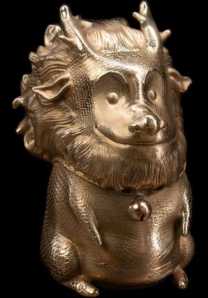 Teasie Beastie – Kirin (Copper) Figurine