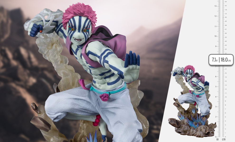 Gallery Feature Image of Akaza Upper Three Collectible Figure - Click to open image gallery