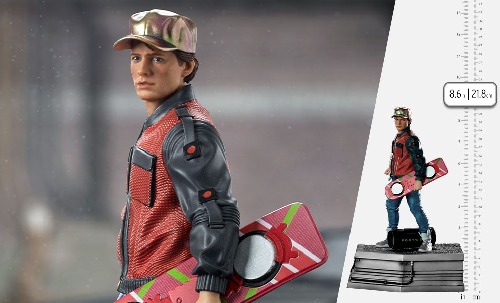 Gallery Feature Image of Marty McFly 1:10 Scale Statue - Click to open image gallery