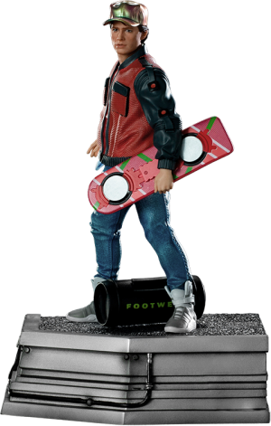 Marty McFly 1:10 Scale Statue