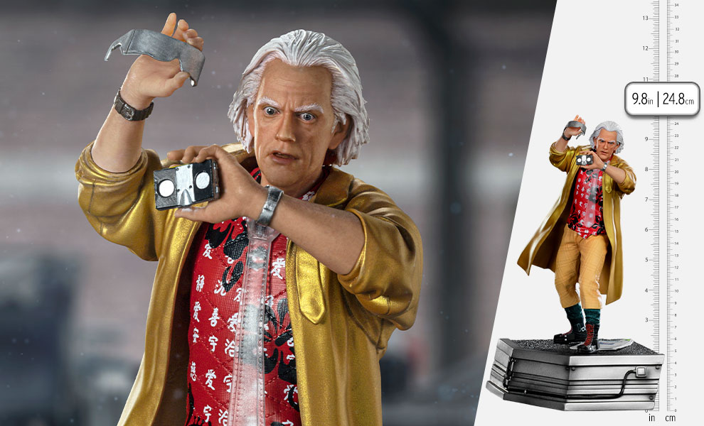 Gallery Feature Image of Doc Brown 1:10 Scale Statue - Click to open image gallery