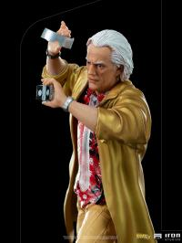Gallery Image of Doc Brown 1:10 Scale Statue