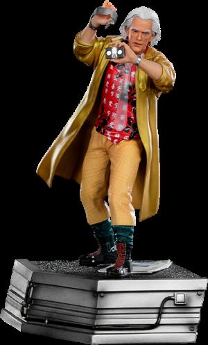 Doc Brown 1:10 Scale Statue