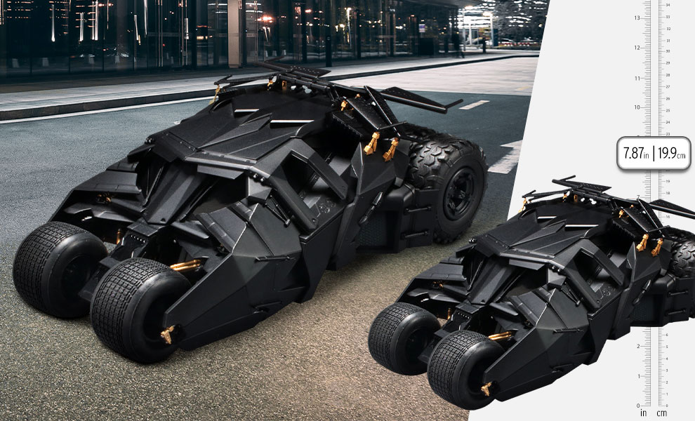 Gallery Feature Image of Batmobile (Batman Begins Version) Model Kit - Click to open image gallery