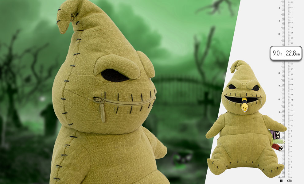 Gallery Feature Image of Ooogie Boogie Zippermouth Premium Plush - Click to open image gallery