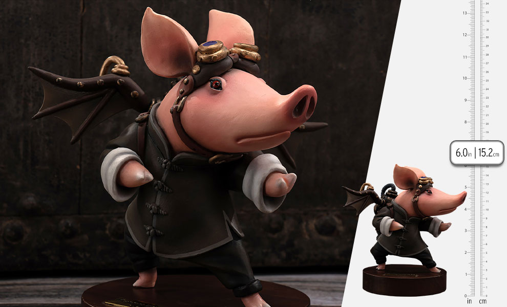 Gallery Feature Image of Steampunk Kungfu Boo Figure - Click to open image gallery