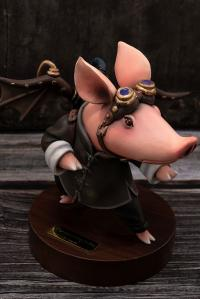 Gallery Image of Steampunk Kungfu Boo Figure