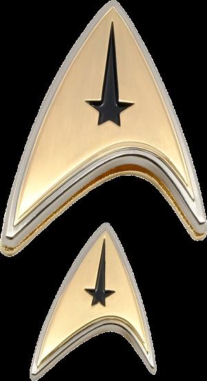 Enterprise Command Badge and Pin Set Prop Replica