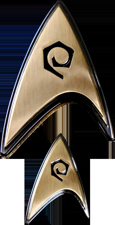 Quantum Mechanix Enterprise Operations Badge and Pin Set Prop Replica