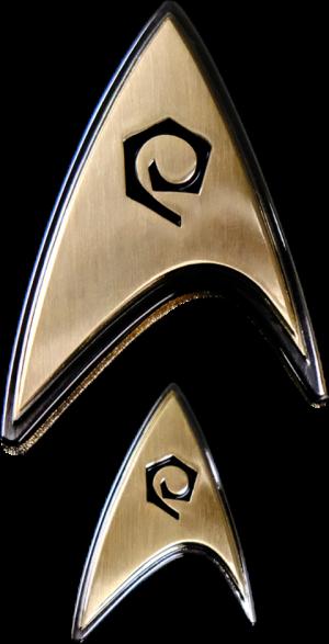 Enterprise Operations Badge and Pin Set Prop Replica